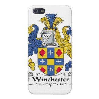 Escudo de la familia de Winchester iPhone 5 Carcasa