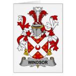 Escudo de la familia de Windsor Felicitación