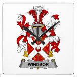 Escudo de la familia de Windsor Reloj