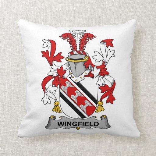 Escudo de la familia de Wingfield Cojin