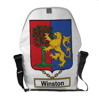 Escudo de la familia de Winston Bolsas De Mensajeria