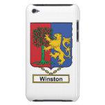 Escudo de la familia de Winston iPod Case-Mate Cobertura