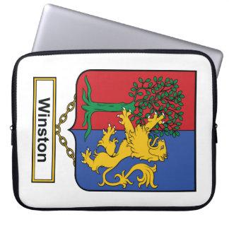 Escudo de la familia de Winston Funda Portátil