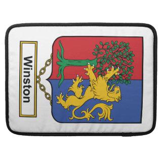 Escudo de la familia de Winston Funda Para Macbooks
