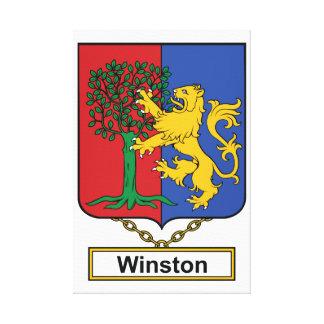 Escudo de la familia de Winston Impresion En Lona