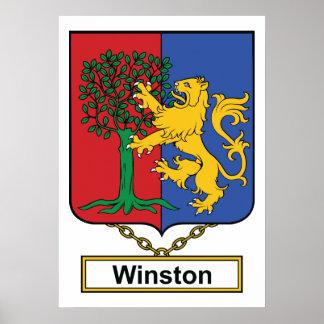 Escudo de la familia de Winston Impresiones