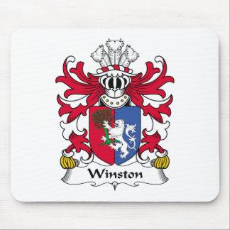 Escudo de la familia de Winston Tapetes De Raton