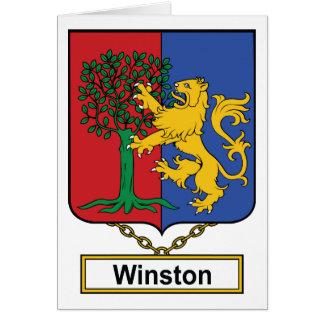 Escudo de la familia de Winston Felicitacion
