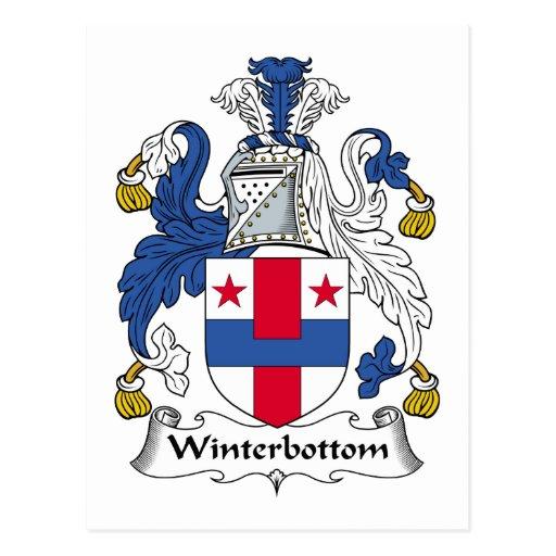 Escudo de la familia de Winterbottom Postal