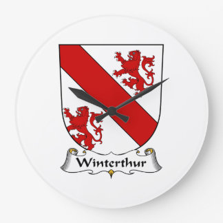 Escudo de la familia de Winterthur Reloj