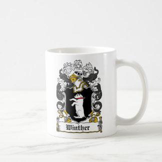 Escudo de la familia de Winther Taza