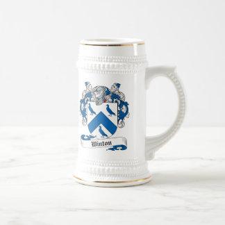 Escudo de la familia de Winton Jarra De Cerveza