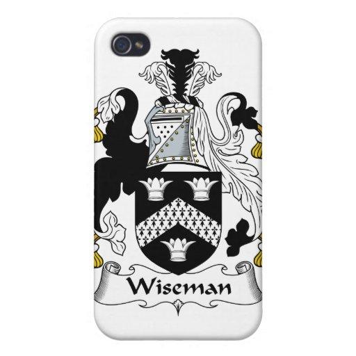 Escudo de la familia de Wiseman iPhone 4/4S Carcasa