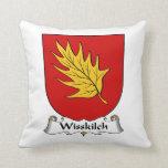 Escudo de la familia de Wisskilch Cojin