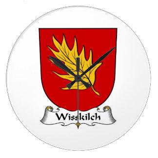 Escudo de la familia de Wisskilch Reloj