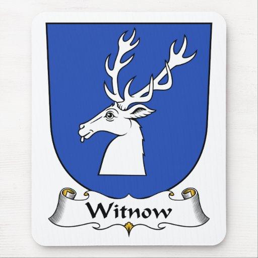 Escudo de la familia de Witnow Alfombrillas De Raton