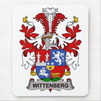 Escudo de la familia de Wittenberg Mousepads