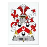 Escudo de la familia de Witter Comunicado Personal