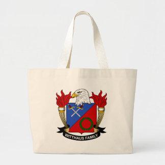 Escudo de la familia de Witthaus Bolsa De Mano
