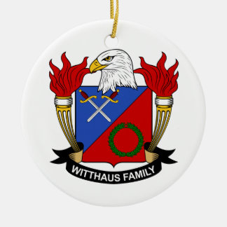 Escudo de la familia de Witthaus Adorno Para Reyes