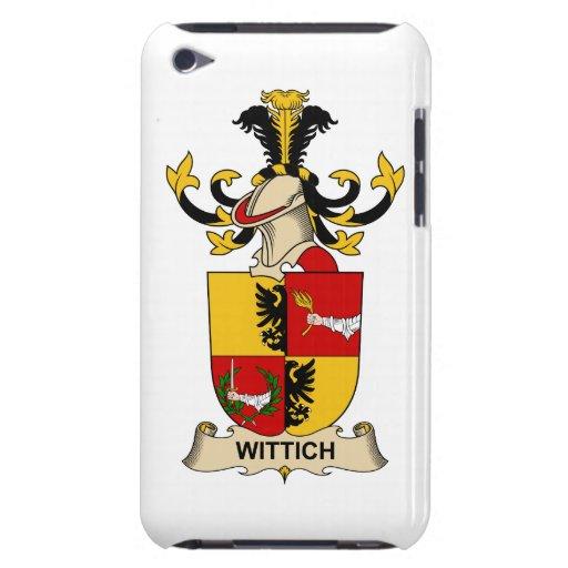 Escudo de la familia de Wittich iPod Case-Mate Carcasas