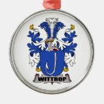 Escudo de la familia de Wittrop Adornos