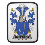 Escudo de la familia de Wittrop Funda Para iPads