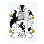 Escudo de la familia de Wolfe Anuncios Personalizados