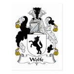 Escudo de la familia de Wolfe Postal