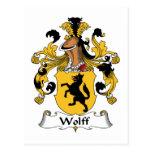 Escudo de la familia de Wolff Postal