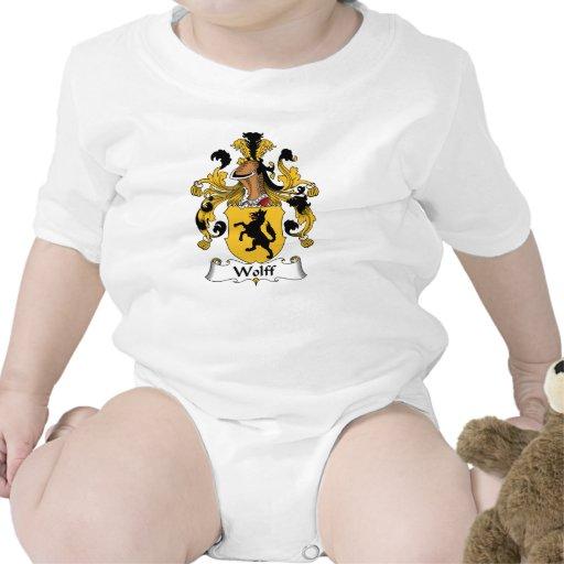 Escudo de la familia de Wolff Trajes De Bebé