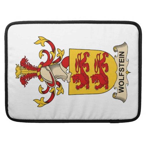 Escudo de la familia de Wolfstein Funda Para Macbooks