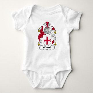 Escudo de la familia de Woodall Mameluco De Bebé