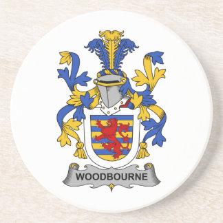 Escudo de la familia de Woodbourne Posavasos Para Bebidas