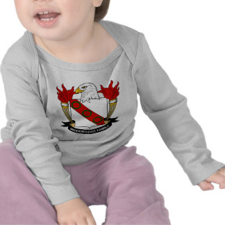 Escudo de la familia de Woodbridge Camiseta