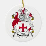 Escudo de la familia de Woodhall Ornato