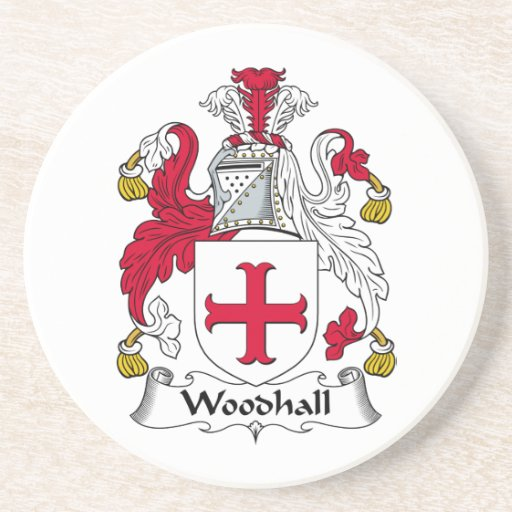 Escudo de la familia de Woodhall Posavasos Manualidades