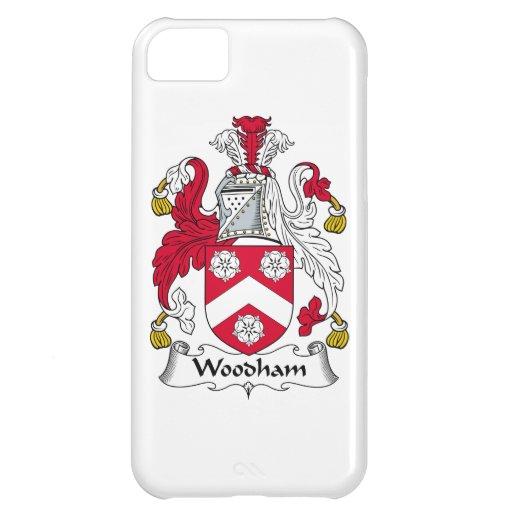 Escudo de la familia de Woodham Funda Para iPhone 5C