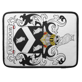Escudo de la familia de Woodley Fundas Macbook Pro