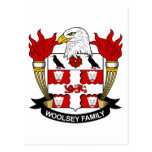 Escudo de la familia de Woolsey Postal