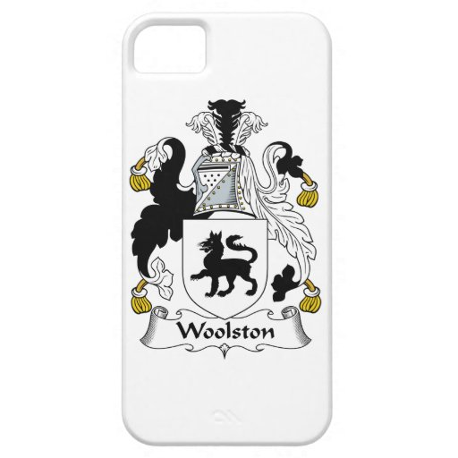 Escudo de la familia de Woolston iPhone 5 Coberturas