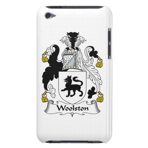 Escudo de la familia de Woolston iPod Touch Case-Mate Cobertura
