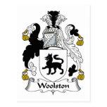 Escudo de la familia de Woolston Postal
