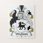 Escudo de la familia de Woolston Rompecabeza Con Fotos