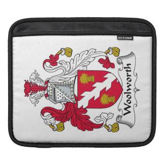 Escudo de la familia de Woolworth Fundas Para iPads