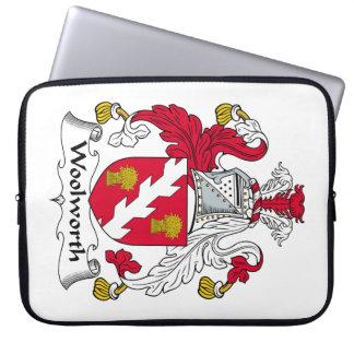 Escudo de la familia de Woolworth Mangas Portátiles