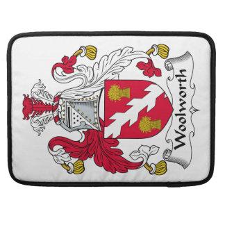 Escudo de la familia de Woolworth Funda Para Macbooks
