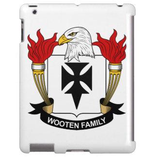 Escudo de la familia de Wooten Funda Para iPad