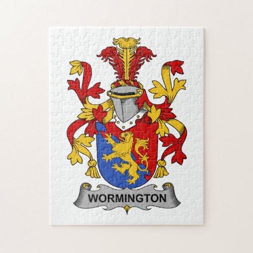Escudo de la familia de Wormington Puzzle Con Fotos