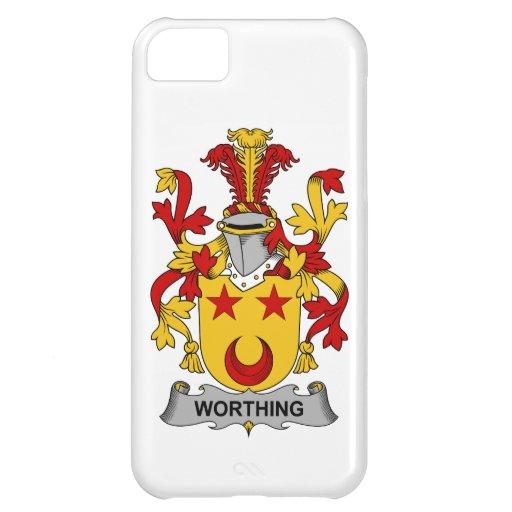 Escudo de la familia de Worthing Funda Para iPhone 5C